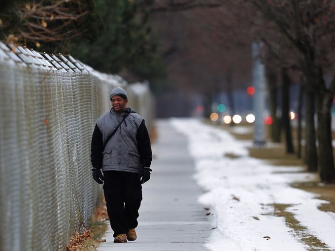Public Transportation Fail – Detroiter walks 21 miles a day for work